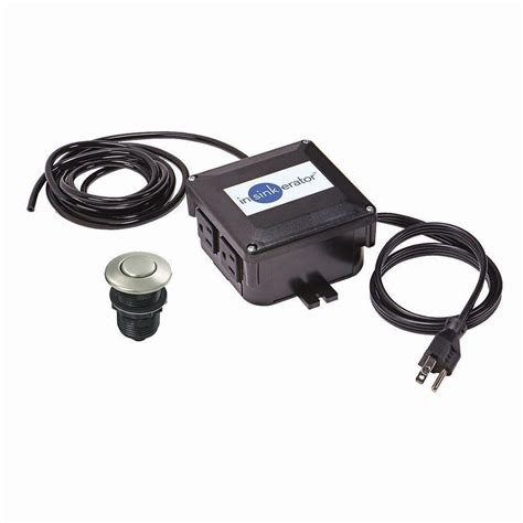 Shop InSinkErator 7.5 in Black Plastic Garbage Disposal Air Switch at Lowes.com