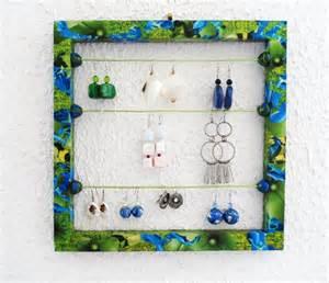 porte bijoux mural pour boucles d oreilles presentoir