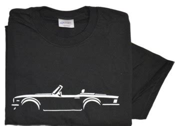 Tshirt Bmw Abu Buy Side triumph tr6 side view white on black t shirt med ebay