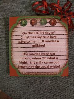 12 days of christmas secret santa gift ideas