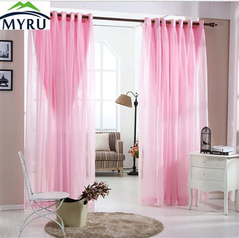 pink bedroom curtains myru pastoral lace curtains romantic living room bedroom