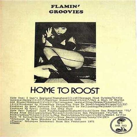 the flamin groovies 1972 home to roost 11 november
