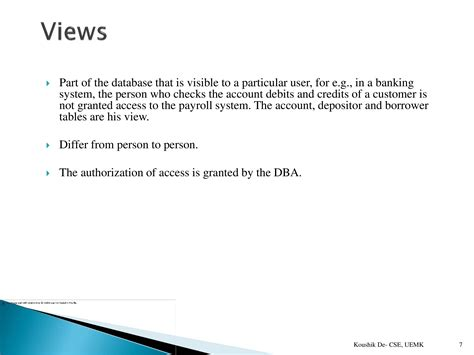Database Management System Ppt For Mba by Database Management System Paper 1 Powerpoint Slides
