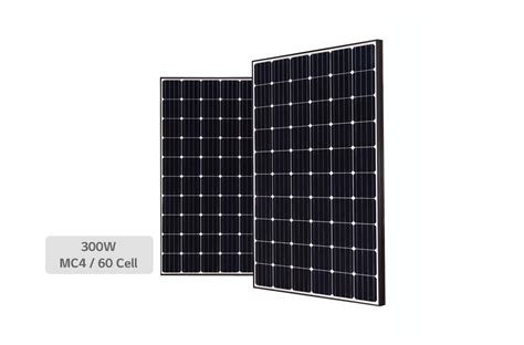 Ac Sharp 300 Watt lg 300s1c black monox plus 300 watt solar panel