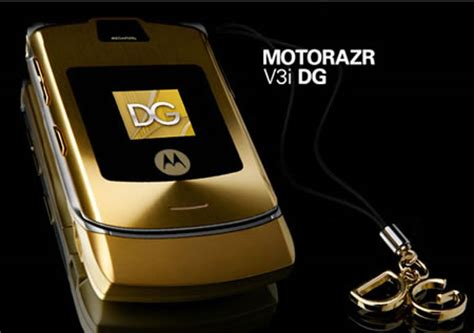 Gift It Gold Dolce Gabbana Razr V3i by Moto Razr V3i Dolce And Gabbana