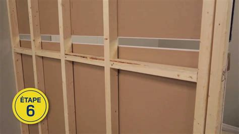 Muret Separation Interieur by Rona Comment Construire Un Mur Int 233 Rieur