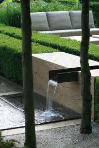 modern water feature landscape design ideas modern garden water features gardens the shape and garden water features