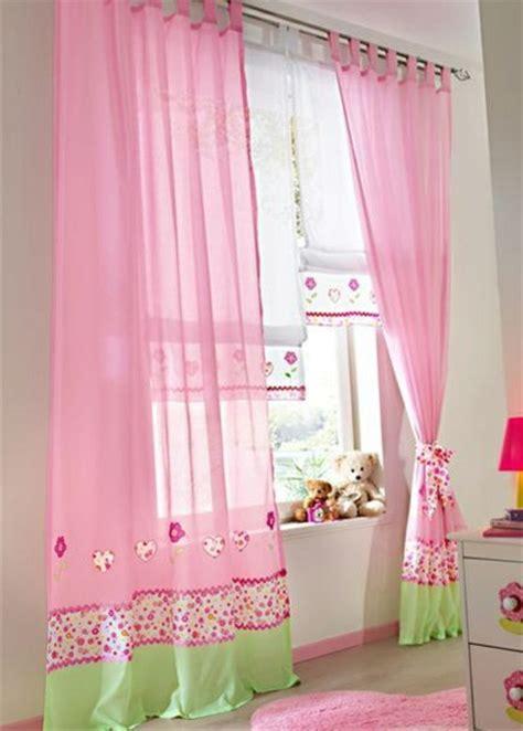 Gardinen Kinderzimmer Rosa