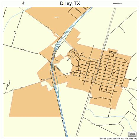 where is dilley texas on the map dilley texas map 4820428