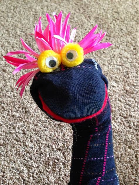 easy sock puppets easy sock puppets pinned and did it sock