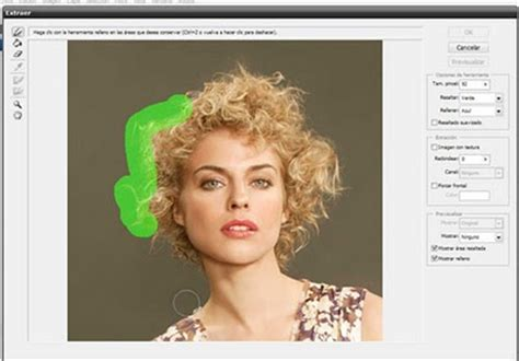 tutorial photoshop cs6 extraer y cambiar fondos recortar cabellos con photoshop solo photoshop