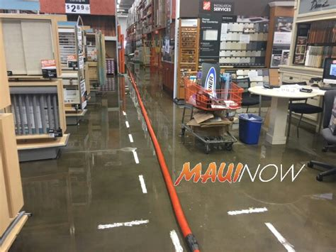now line floods home depot kahului