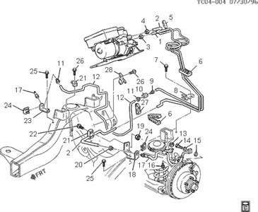 1999 gmc safari brake line diagram ~ wiring diagram