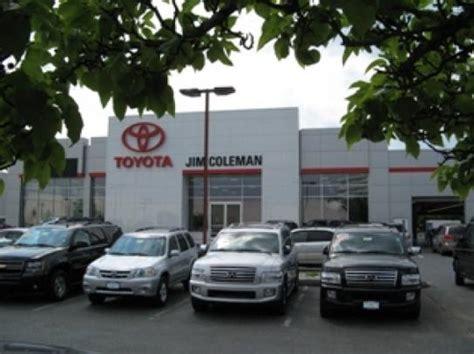 Maryland Toyota Dealers Jim Coleman Toyota Car Dealership In Bethesda Md 20817