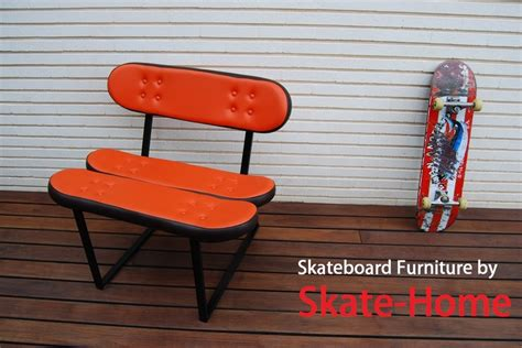 skateboard furniture pin by skate home skateboard furniture on skate ads