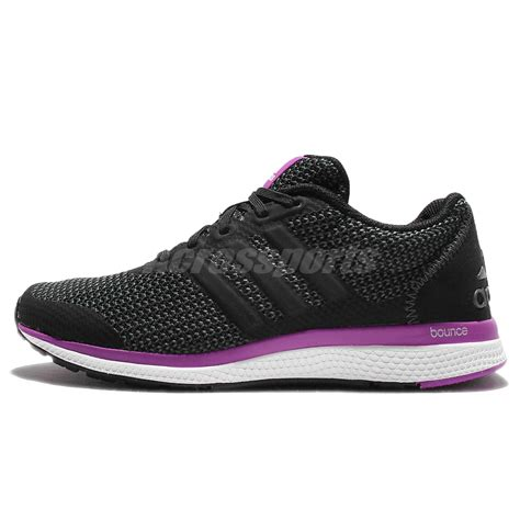 Adidas Bounce Lush Pink Dask Purple adidas lightster bounce w black purple womens running shoes sneakers ba8500 ebay