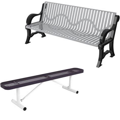 thermoplastic benches commercial thermoplastic coated park benches national