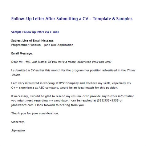 2nd Follow Up Email After Template Second Follow Up Email After Interview Sle Template Business