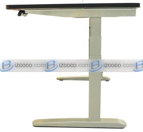 automatic height adjustable desk electric adjustable height desk bizgoco