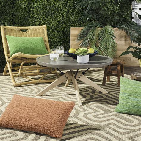 Safavieh Patio Furniture - vnn1026a patio tables furniture by safavieh