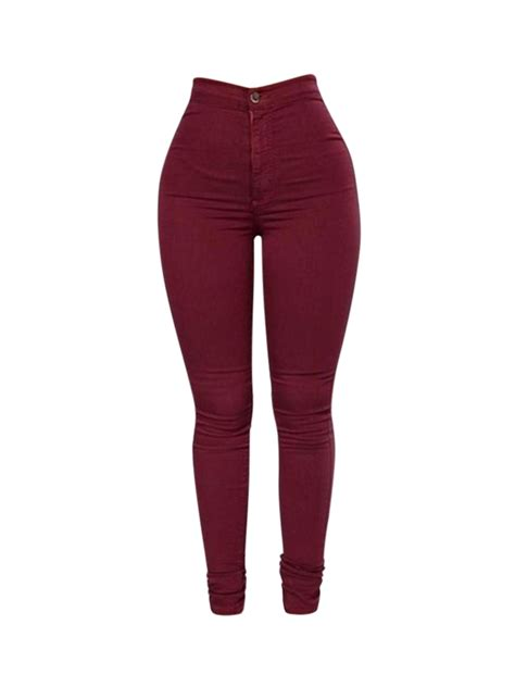 best jeans for women in their 40s leggings in europe casual stretch skinny high waist women