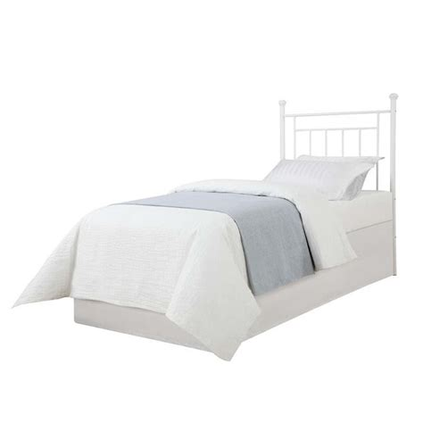 white metal headboard twin metal spindle twin headboard in white wm3151tw tyf