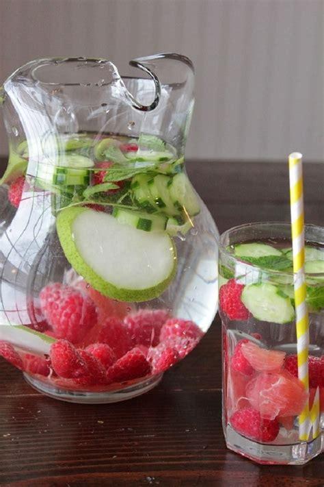 Raspberry Detox Water by Top 10 Debloating Drinks Top Inspired