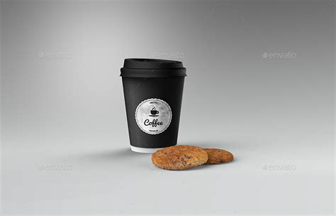 How To Fold Envelope cafe branding identity coffee cup mock up by ayashi