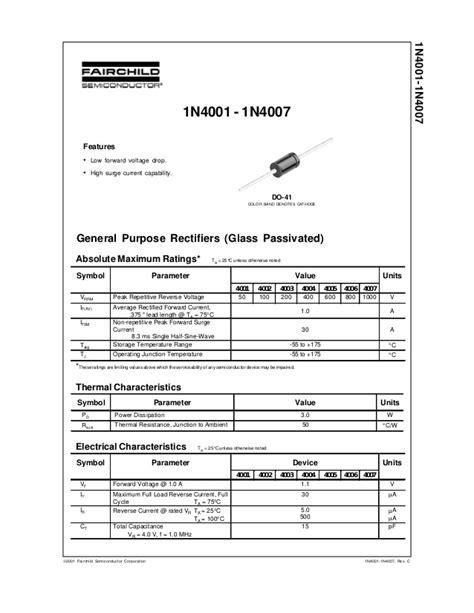 transistor data sheet