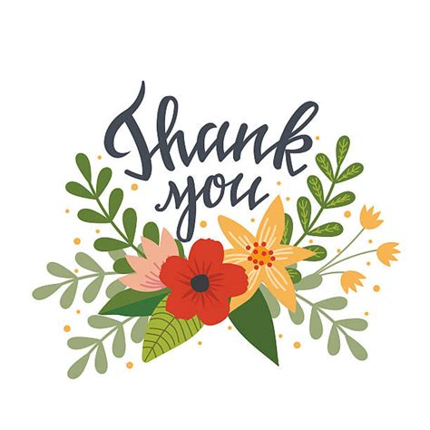 thank you clipart clip thank you flowers 101 clip