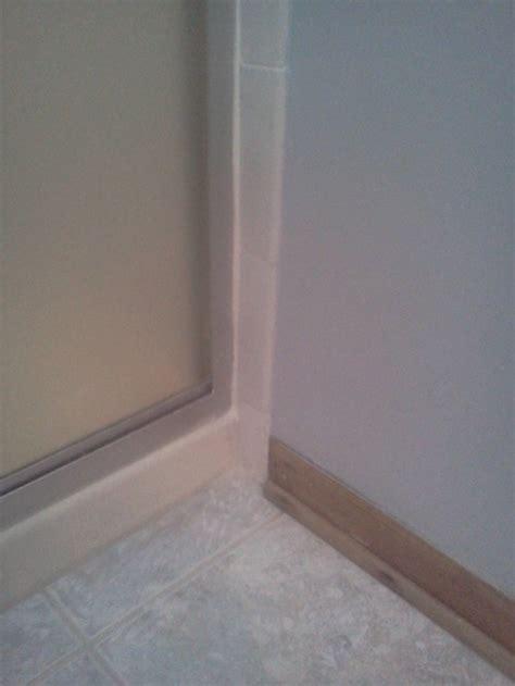 loose bathroom tile master bath repair shower tile loose and drywall damaged