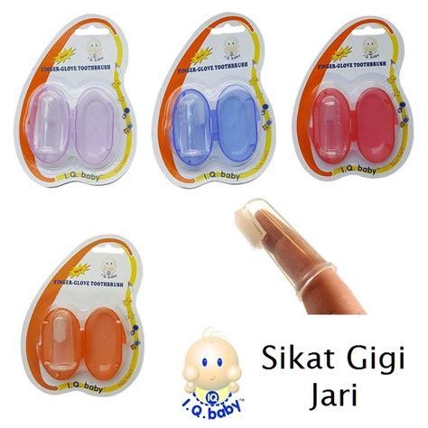 Sikat Gigi Jari Bayi Dodo Finger Toothbrush iq baby finger toothbrush sikat gigi jari untuk bayi
