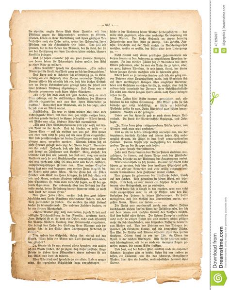 the book of testo grunge page of undefined antique book with german text
