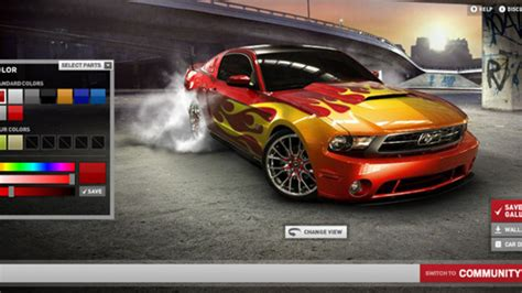 Jeux Mustang Auto Moto by News Automoto Cr 233 Ez Votre Ford Mustang 2010 Mytf1