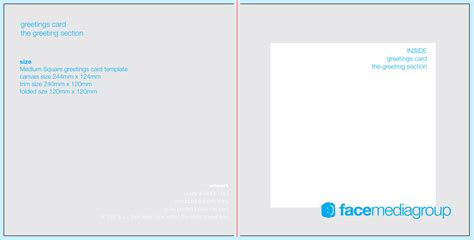 Blank Standard Card Template by Free Blank Greetings Card Artwork Templates For