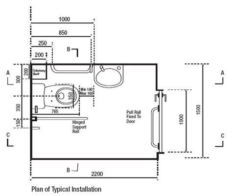 disabled toilet layout building regs disabled toilet size images frompo 1