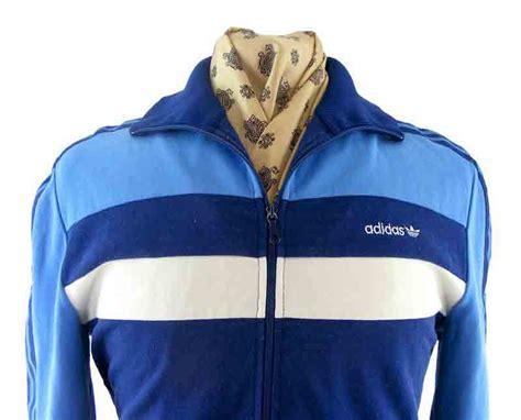 vintage adidas track top vintage clothing blue 17