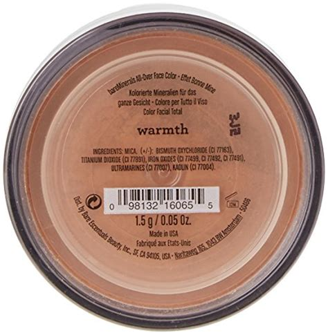 Bare Essentials Gift Card - bare minerals all over face powder color warmth 0 05 ounce in the uae see prices