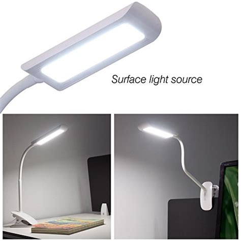 headboard clip on reading light led desk l flexible neck rhinoteck z2 dimmable clip on