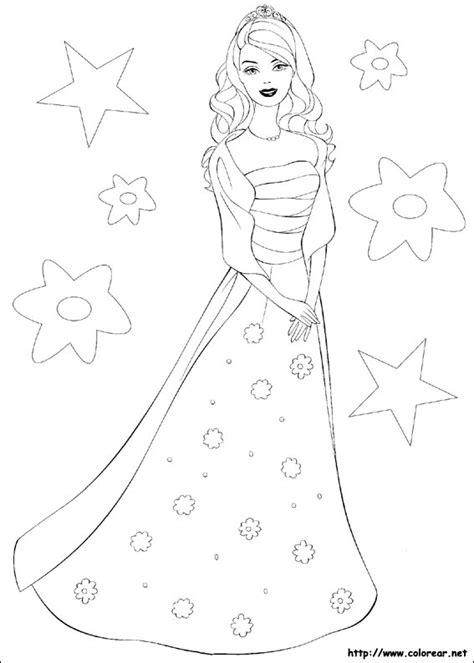 imagenes para colorear mis xv dibujos para colorear de barbie