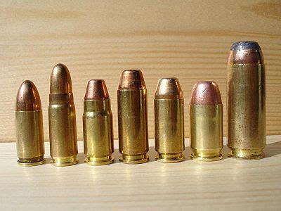 list of handgun cartridges | close focus research