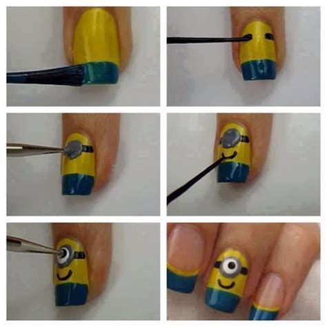minion diy crafts diy minion nails pictures photos and images for