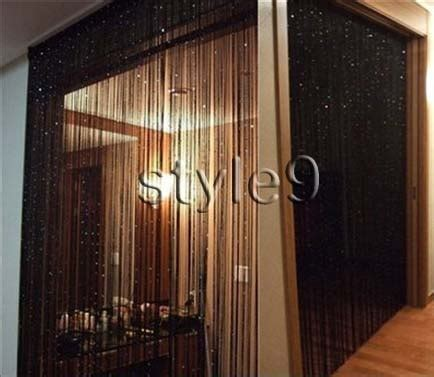 fringe room divider string curtain with fringe panel room divider
