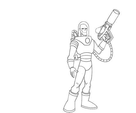 Mr Freeze Coloring Pages mr freeze coolboy lowland seed
