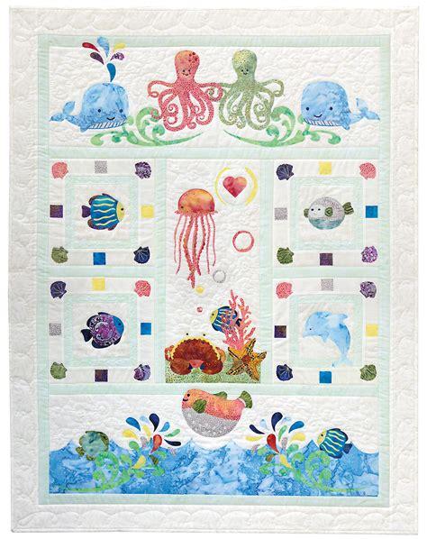 pattern ideas wee sea baby quilt pattern