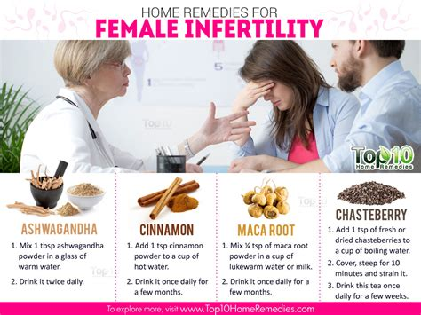 home remedies for infertility sterility top 10