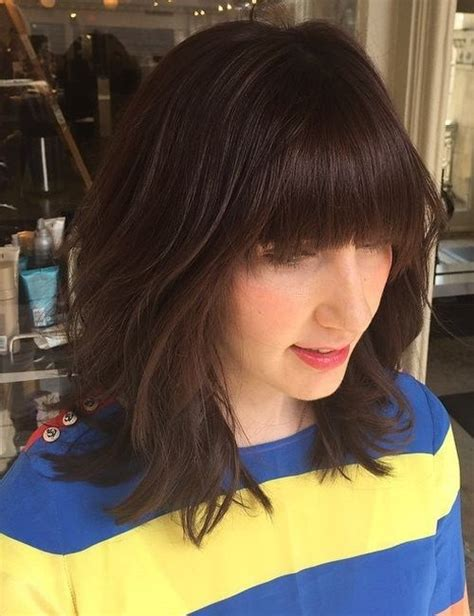 low manance hair cuts with bangs for hair 20 stylish low maintenance haircuts and hairstyles