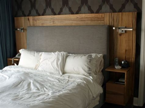 headboard with built in nightstands the world s catalog of ideas