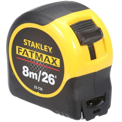 Taping Skrup 4 X 1 B stanley 8m 26 ft x 1 1 4 in fatmax rule metric