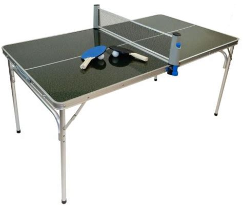portable pong table portable mini ping pong table with accessories